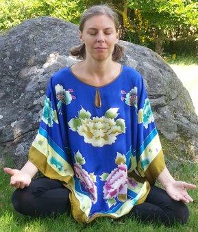Meditation och avslappning med Malin
